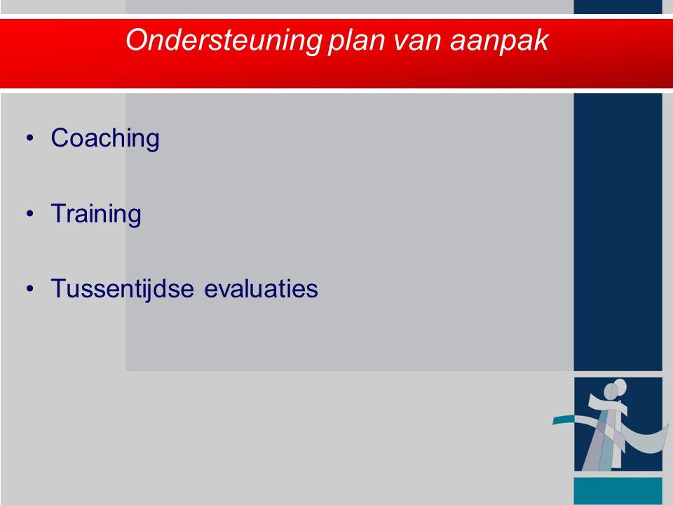 Ondersteuning plan van aanpak