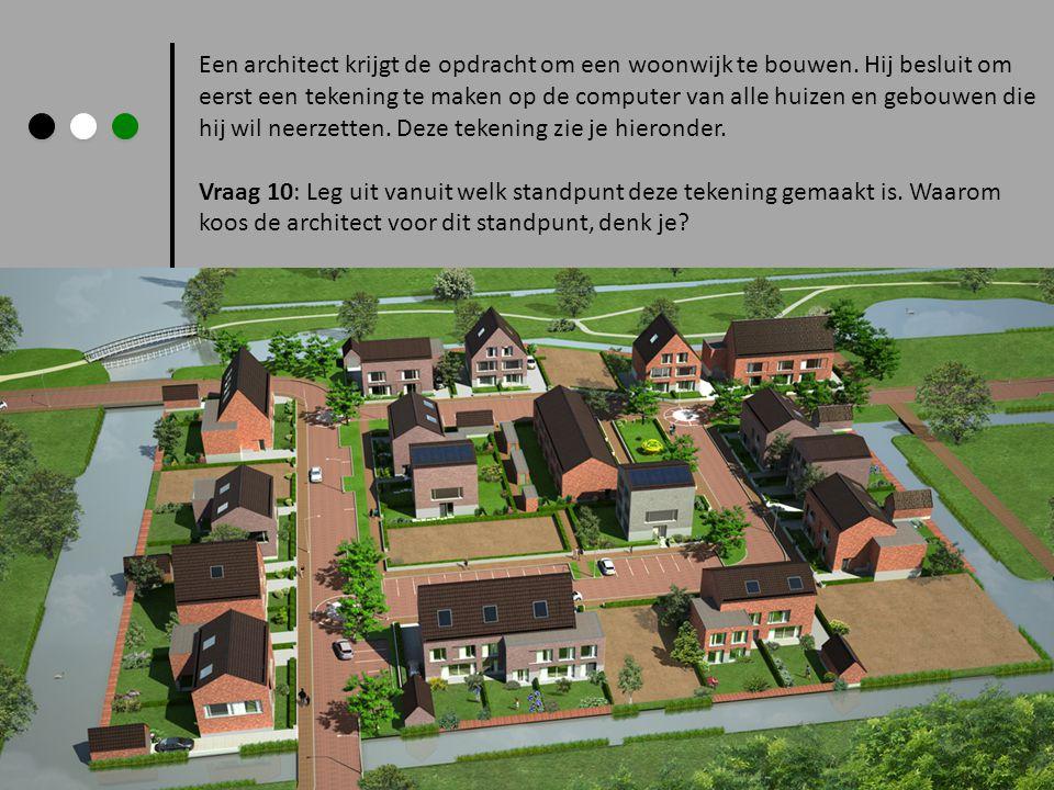 Een architect krijgt de opdracht om een woonwijk te bouwen