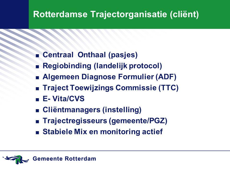 Rotterdamse Trajectorganisatie (cliënt)
