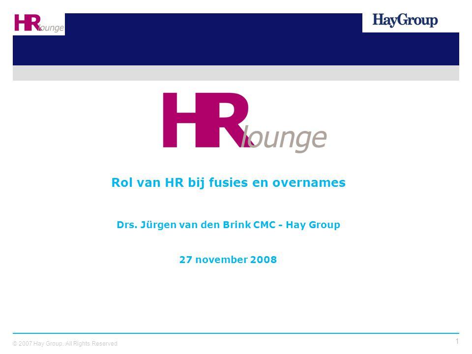 Rol van HR bij fusies en overnames