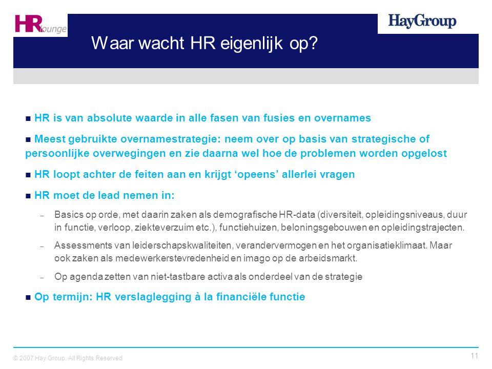 Waar wacht HR eigenlijk op