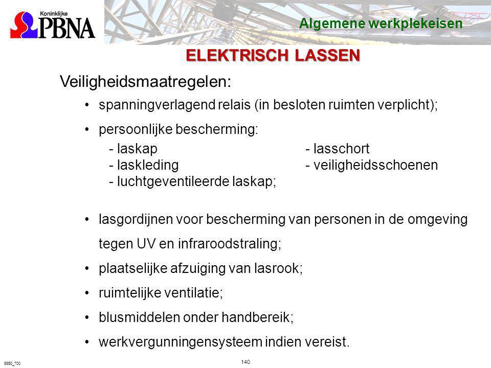 Veiligheidsmaatregelen:
