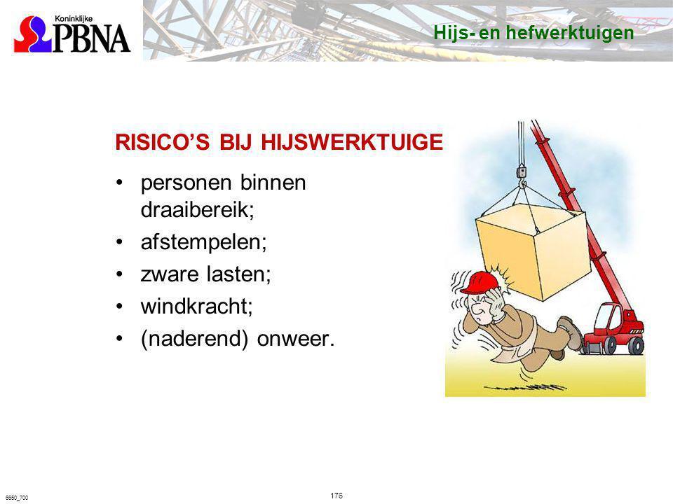 RISICO'S BIJ HIJSWERKTUIGEN