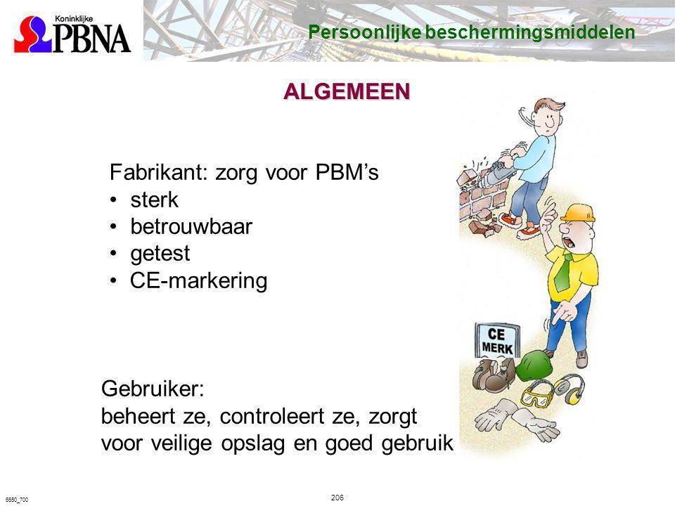 Fabrikant: zorg voor PBM's sterk betrouwbaar getest CE-markering
