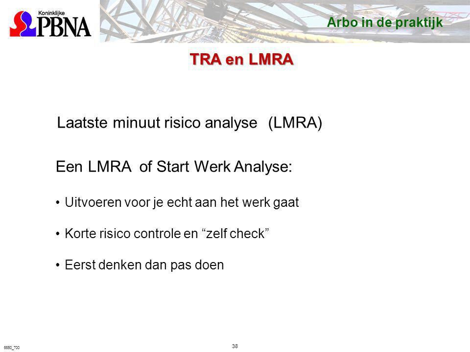 Laatste minuut risico analyse (LMRA)