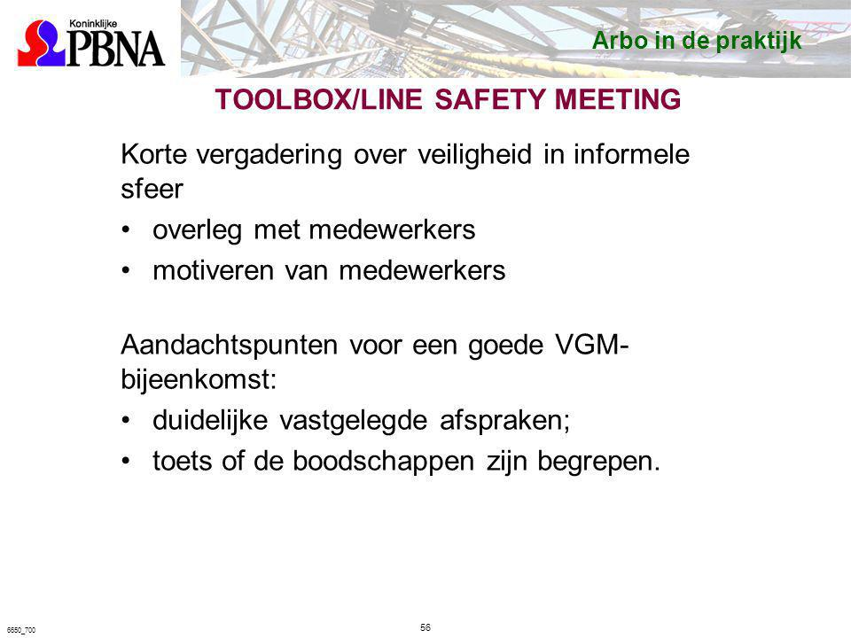 TOOLBOX/LINE SAFETY MEETING