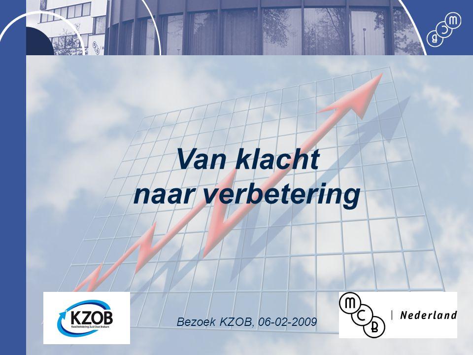 Van klacht naar verbetering Bezoek KZOB, 06-02-2009