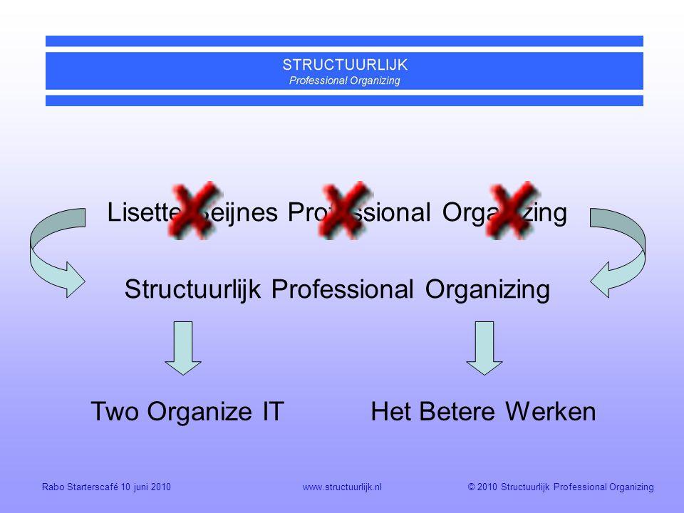 Lisette Beijnes Professional Organizing