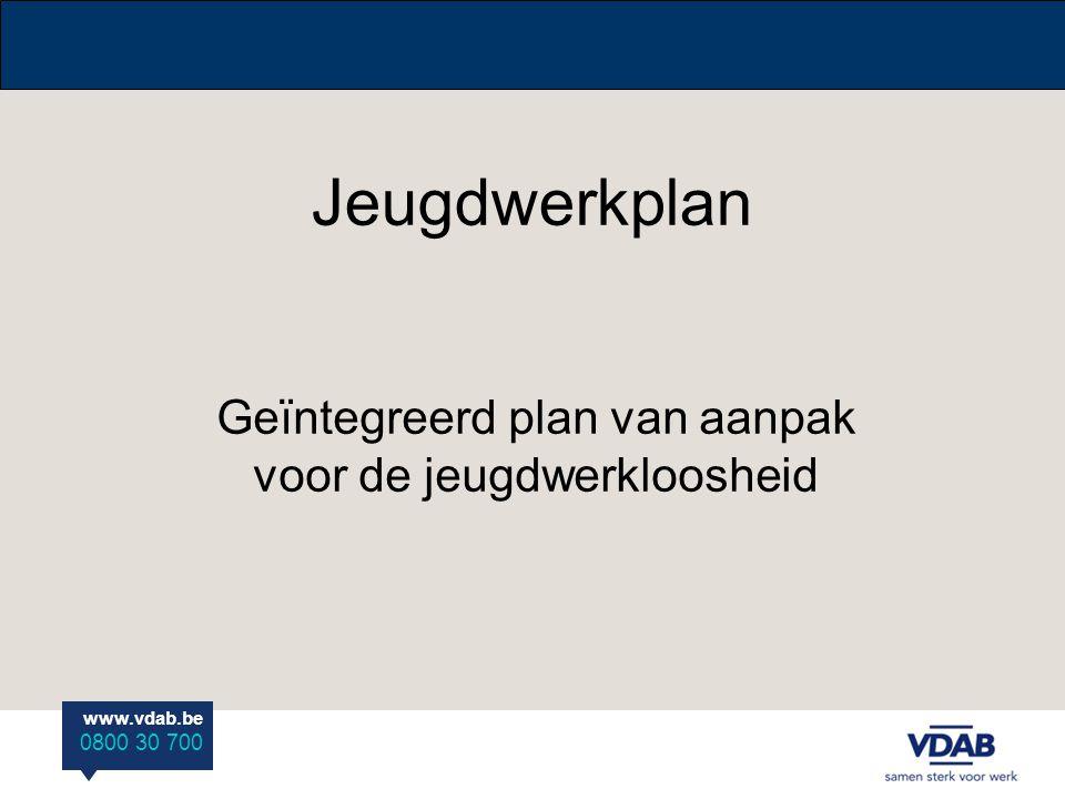 Geïntegreerd plan van aanpak voor de jeugdwerkloosheid