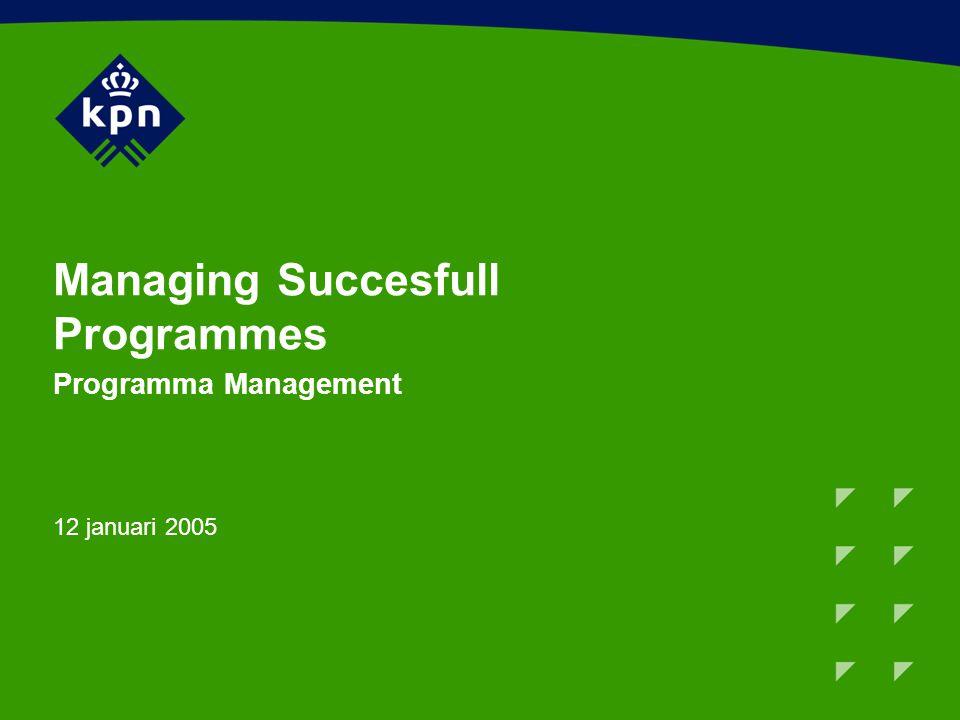 Programma De veranderende omgeving van organisaties