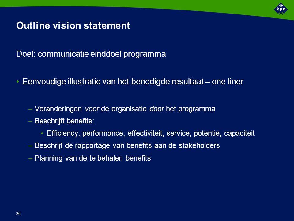 Voorbeeld Vision Statement