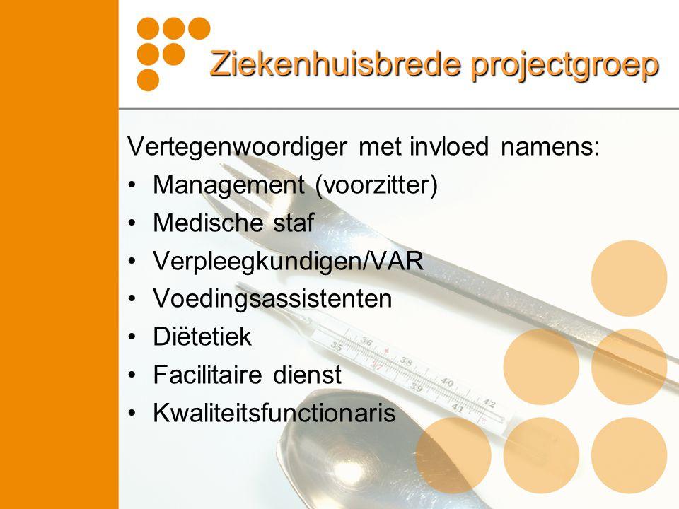 Ziekenhuisbrede projectgroep