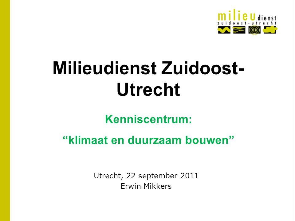 Utrecht, 22 september 2011 Erwin Mikkers