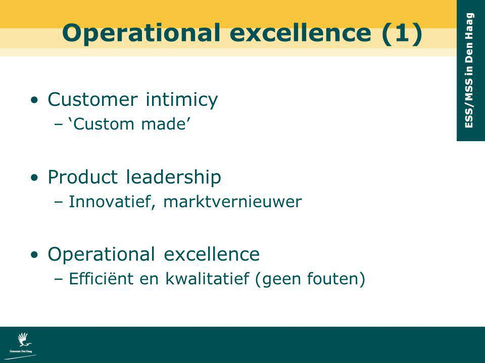 Operational excellence (1)