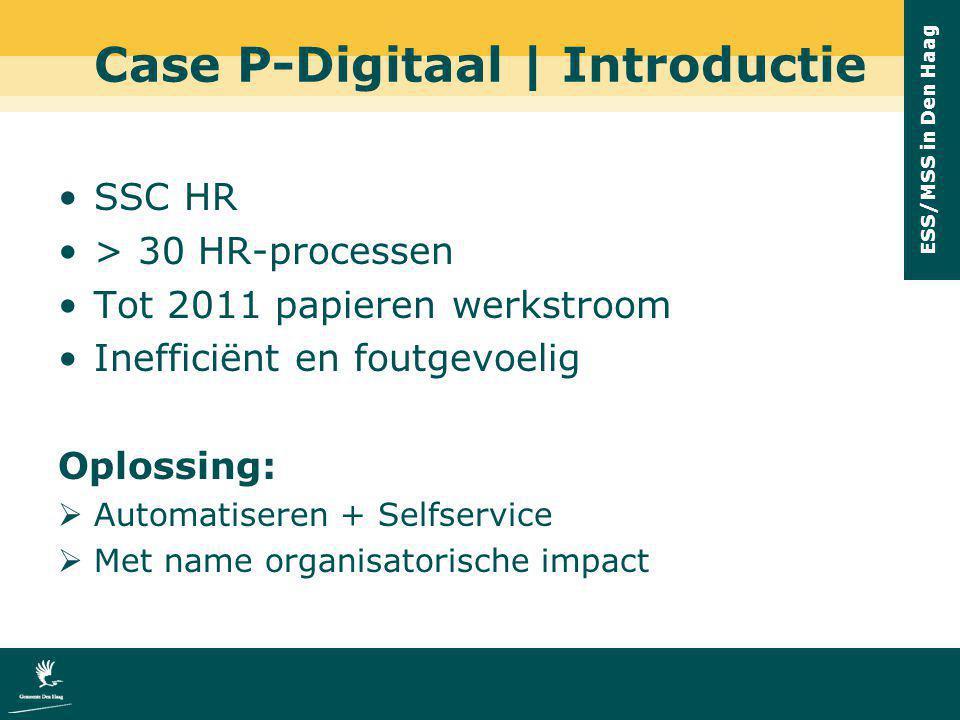 Case P-Digitaal | Introductie