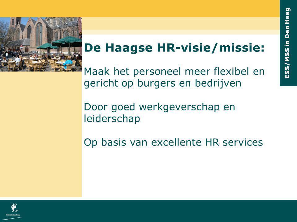 De Haagse HR-visie/missie: