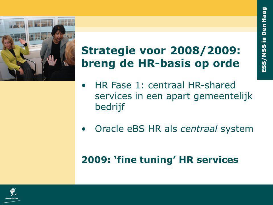 breng de HR-basis op orde