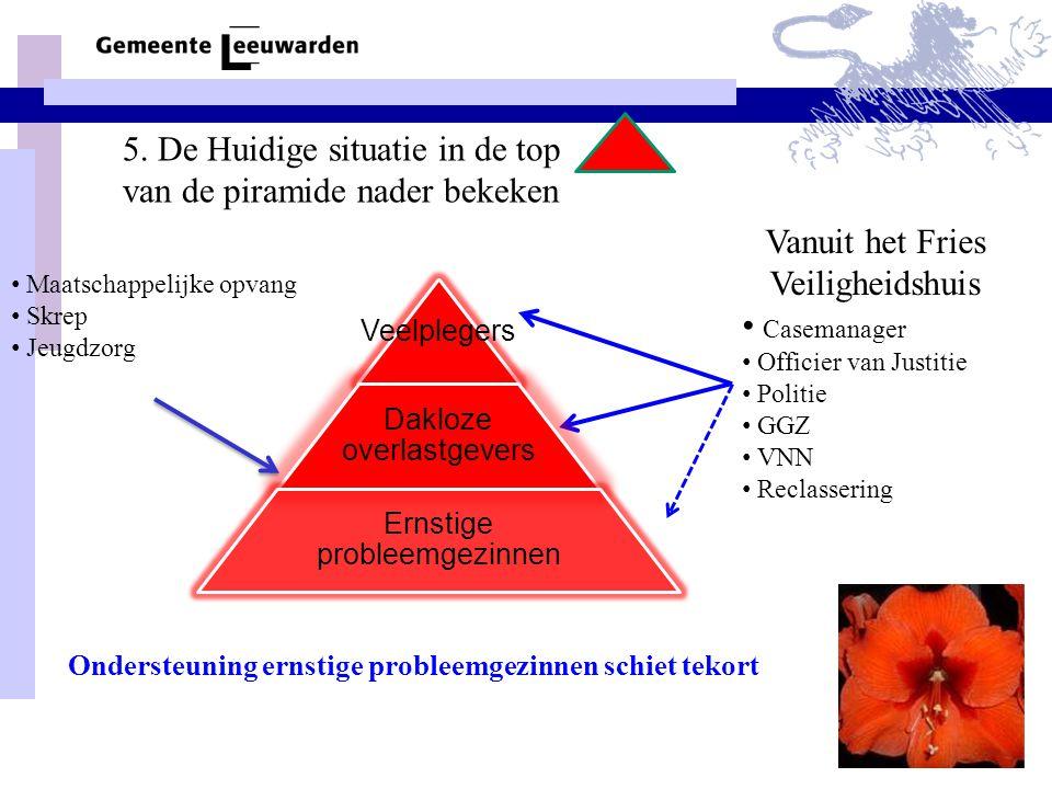 5. De Huidige situatie in de top van de piramide nader bekeken