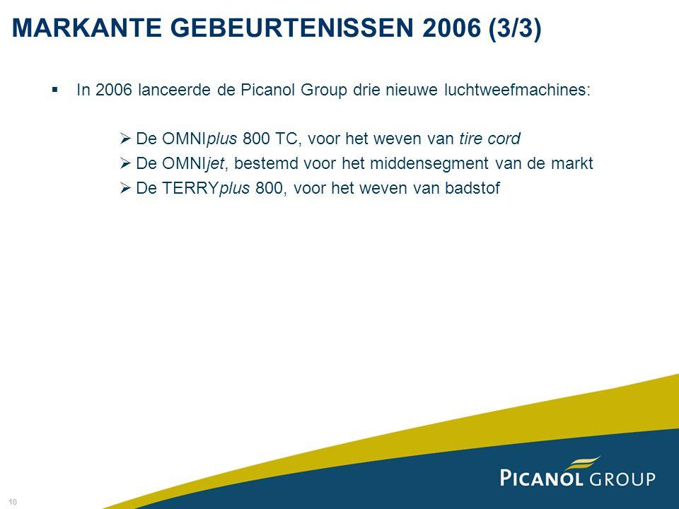 MARKANTE GEBEURTENISSEN 2006 (3/3)