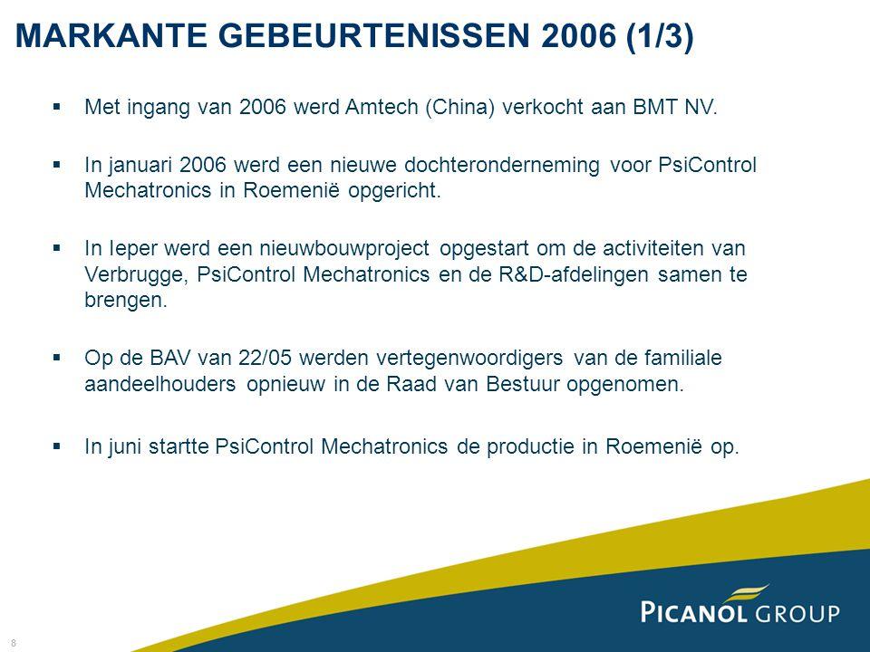 MARKANTE GEBEURTENISSEN 2006 (1/3)