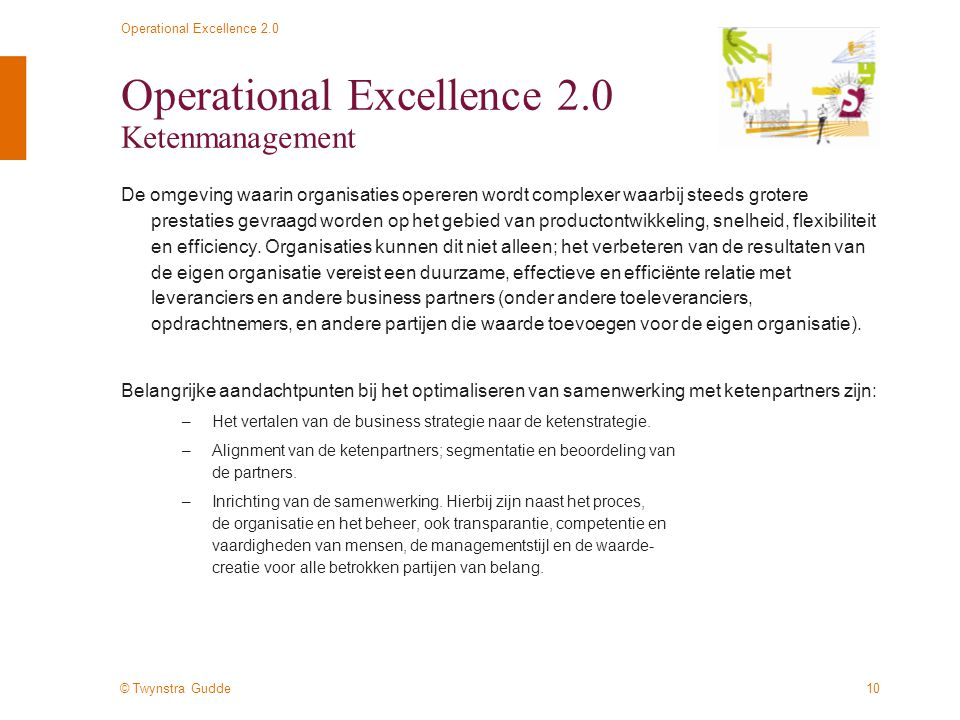 Operational Excellence 2.0 Ketenmanagement