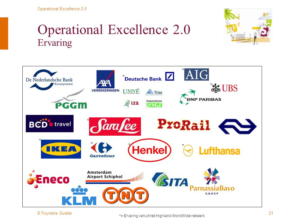Operational Excellence 2.0 Ervaring
