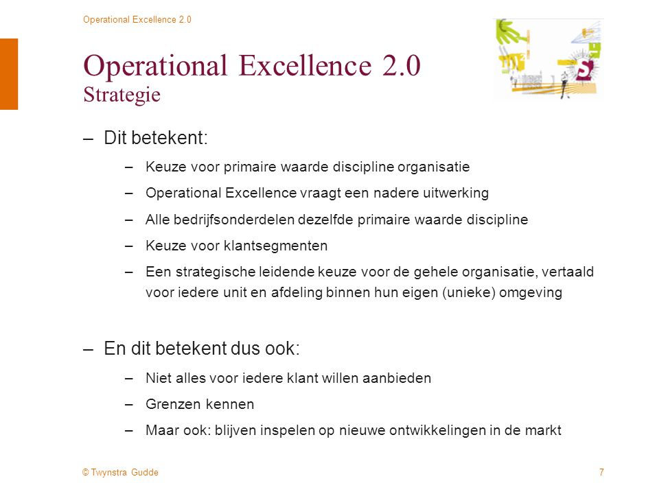 Operational Excellence 2.0 Strategie