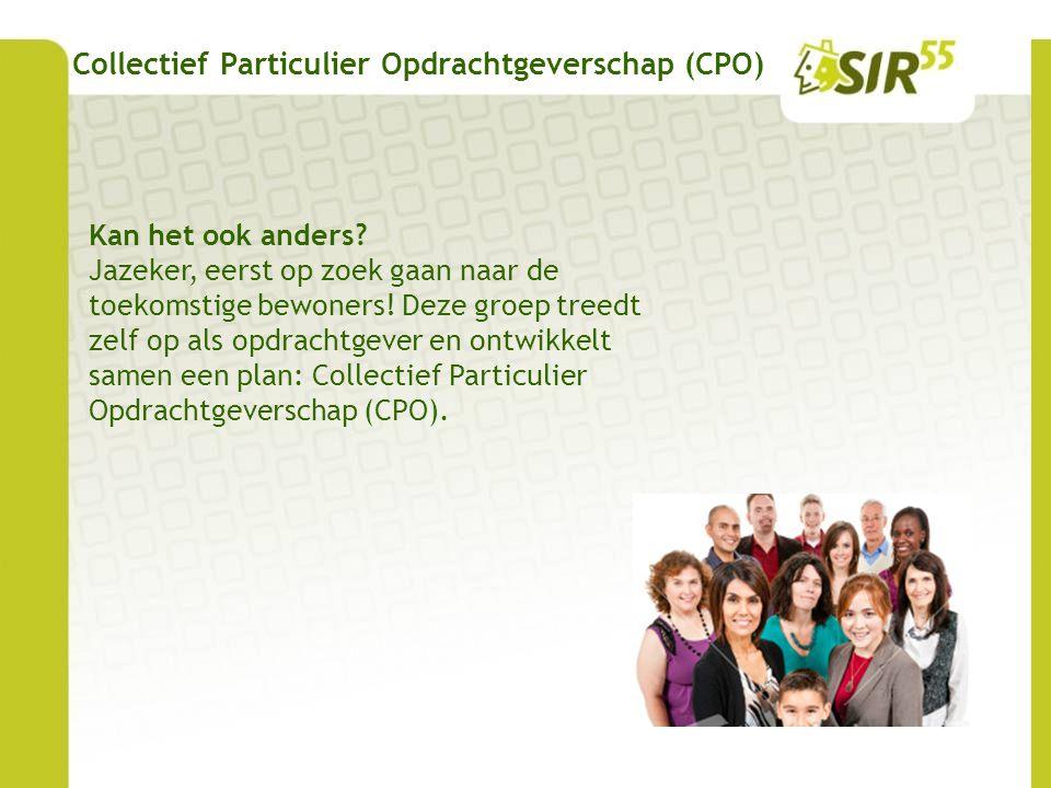 Collectief Particulier Opdrachtgeverschap (CPO)