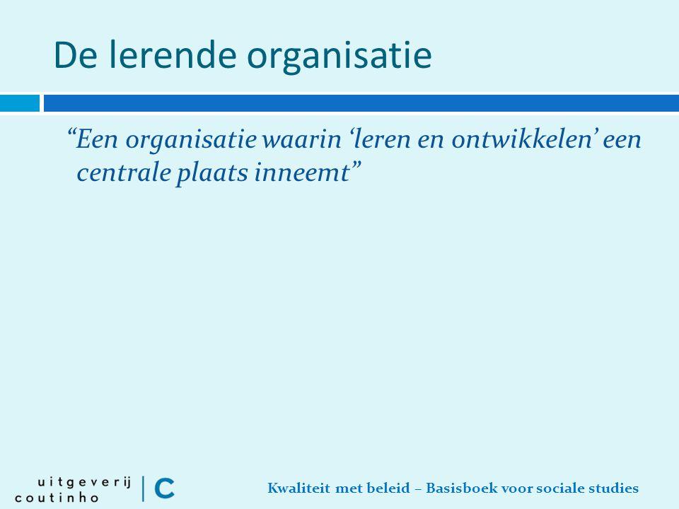 De lerende organisatie