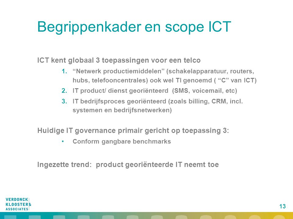 Begrippenkader en scope ICT