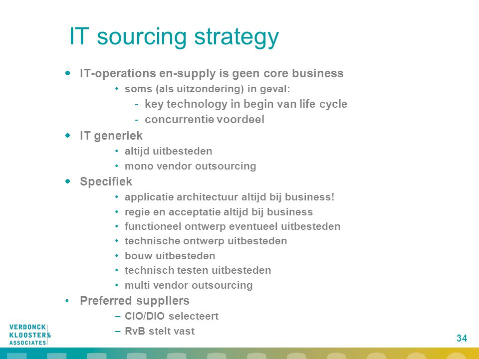 IT sourcing strategy IT-operations en-supply is geen core business
