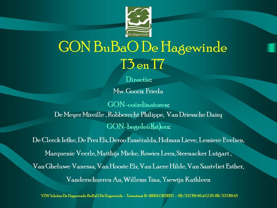GON BuBaO De Hagewinde T3 en T7