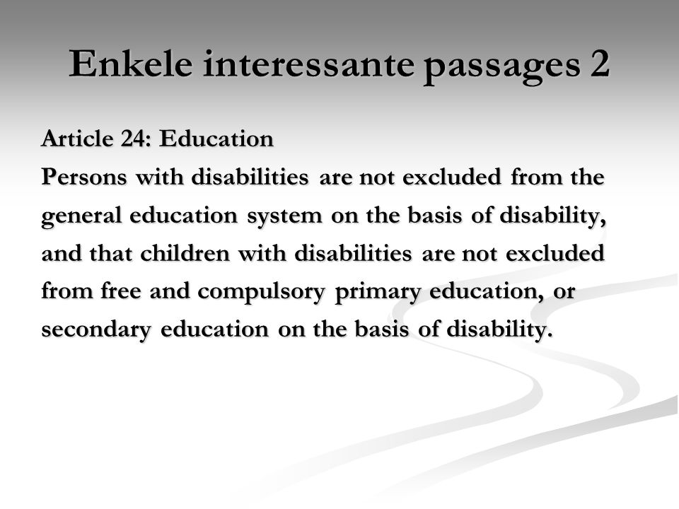 Enkele interessante passages 2