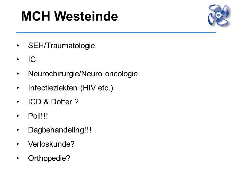MCH Westeinde SEH/Traumatologie IC Neurochirurgie/Neuro oncologie