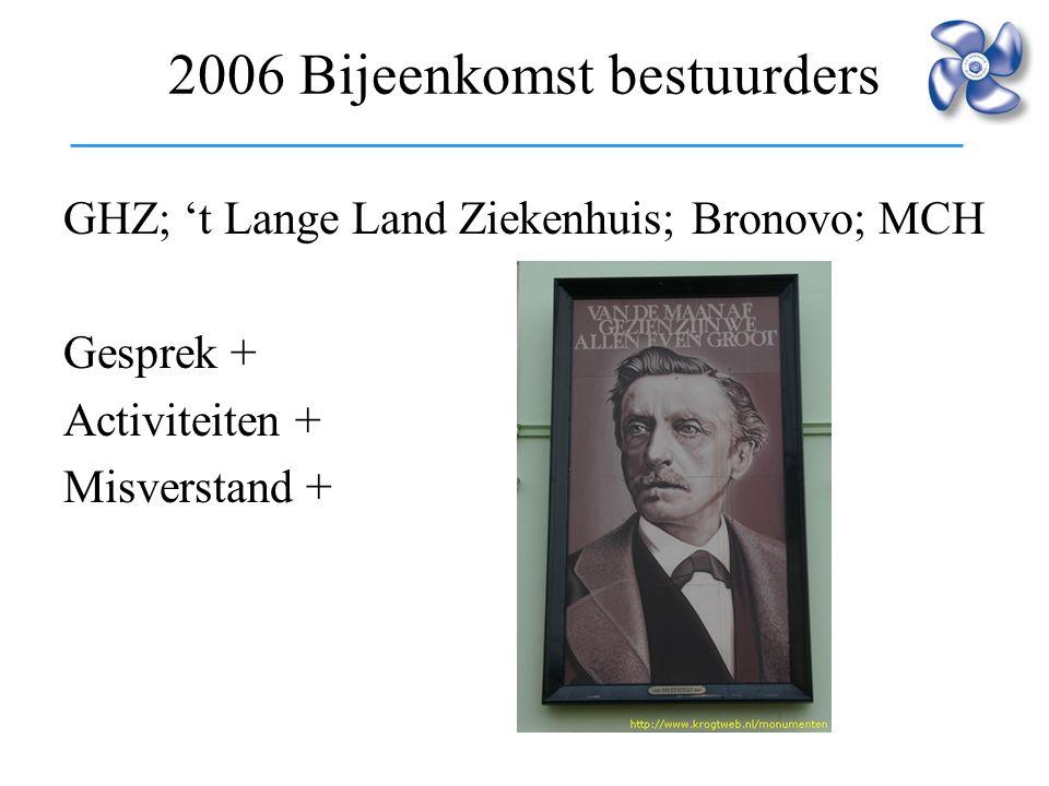 2006 Bijeenkomst bestuurders