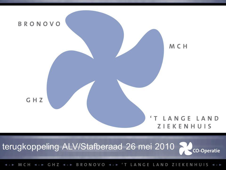 terugkoppeling ALV/Stafberaad 26 mei 2010