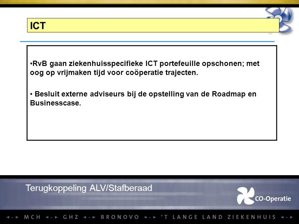 ICT Terugkoppeling ALV/Stafberaad