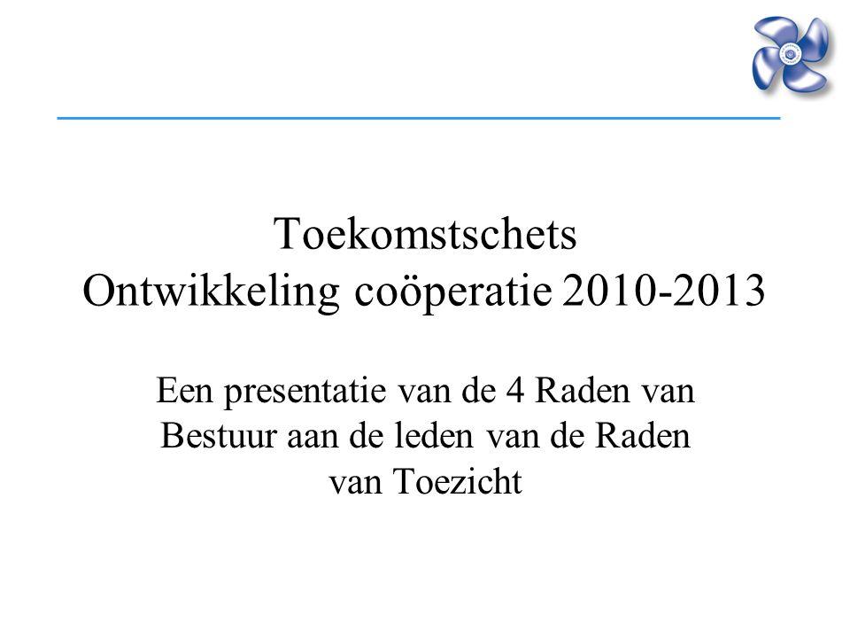 Toekomstschets Ontwikkeling coöperatie 2010-2013