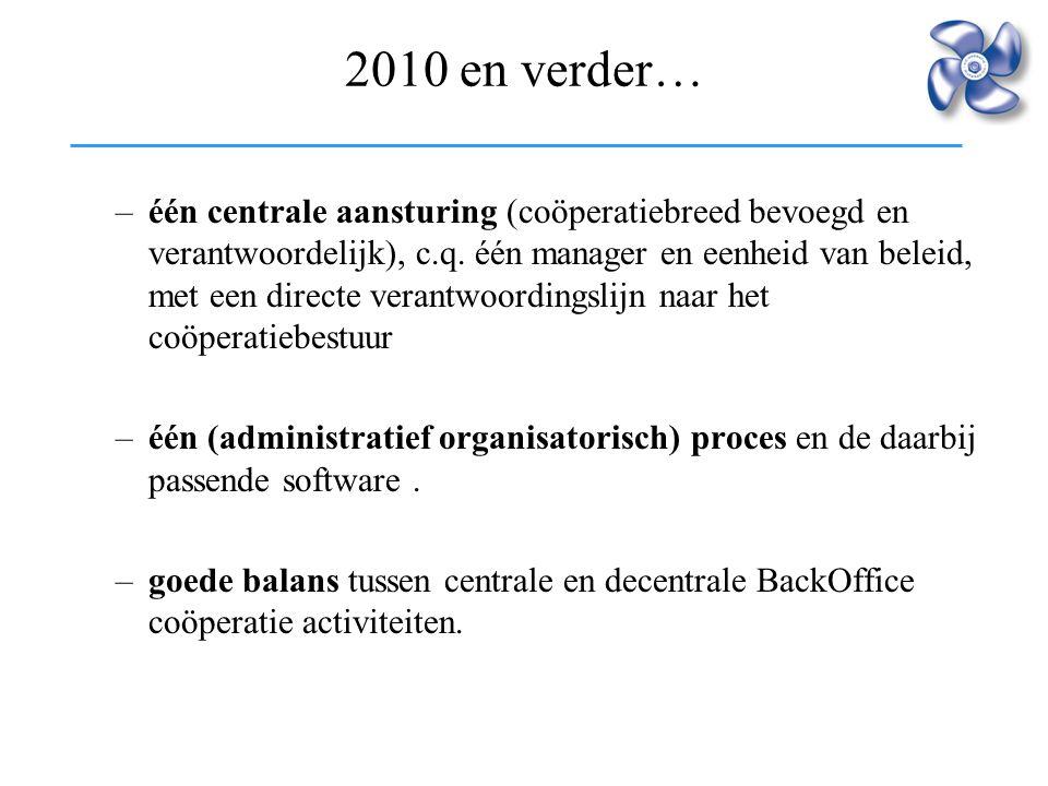 2010 en verder…
