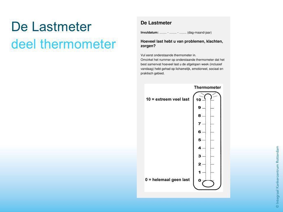 De Lastmeter deel thermometer