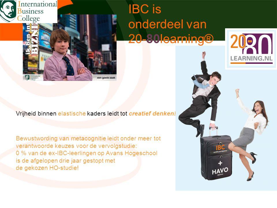 IBC is onderdeel van 20-80learning®