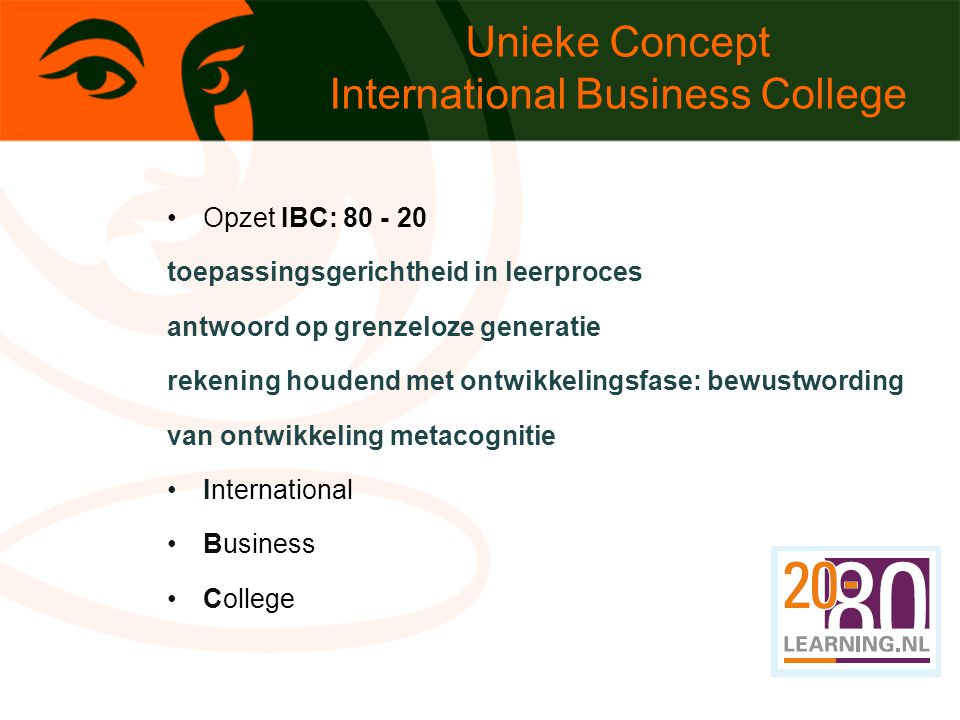 Unieke Concept International Business College