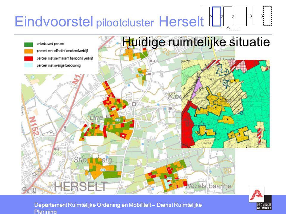 Eindvoorstel pilootcluster Herselt
