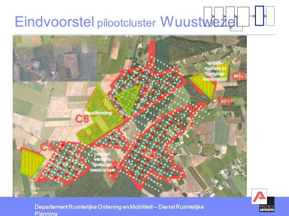 Eindvoorstel pilootcluster Wuustwezel
