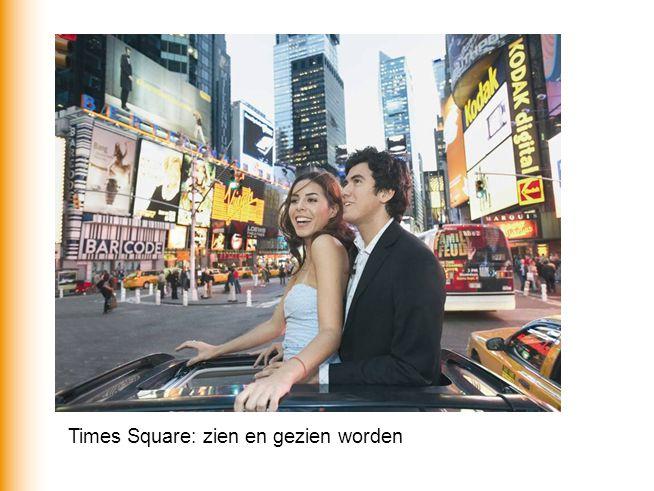 Times Square: zien en gezien worden