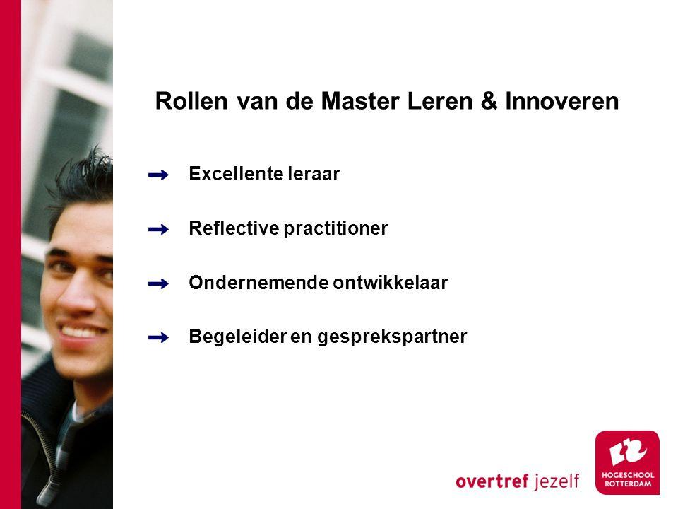 Rollen van de Master Leren & Innoveren