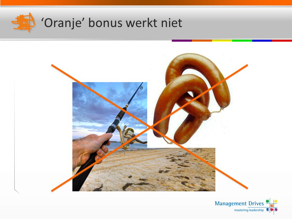 'Oranje' bonus werkt niet