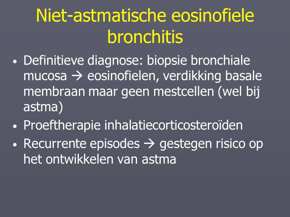 Niet-astmatische eosinofiele bronchitis