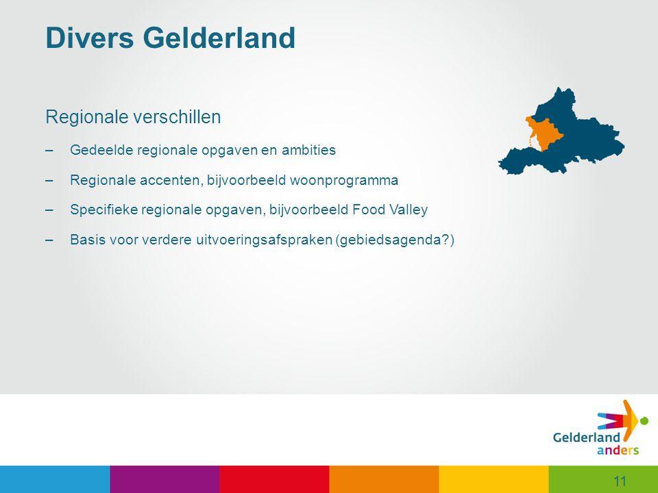Divers Gelderland Regionale verschillen