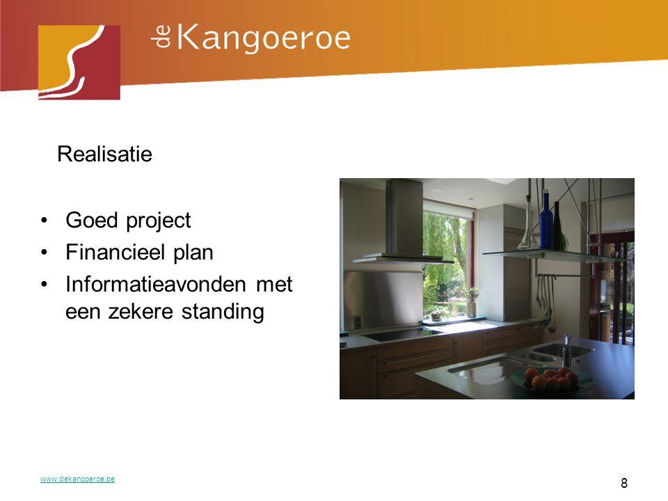 Realisatie Goed project Financieel plan
